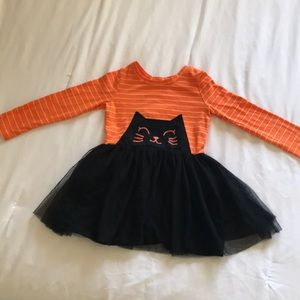 Cat & Jack Halloween Cat Toddler Dress